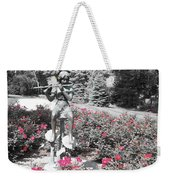 Flute Player - Two Toned Weekender Tote Bag