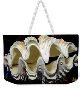 Fluted Giant Clam Shell Weekender Tote Bag
