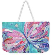 Fluttering Jewel Weekender Tote Bag