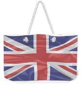 Fluttering Silk Union Jack Weekender Tote Bag