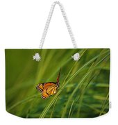 Fluttering Through The Summer Grass Weekender Tote Bag