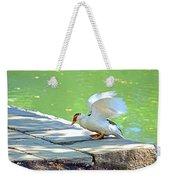 Fly Away Duck Weekender Tote Bag