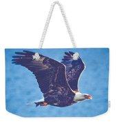 Fly By Eagle. 3 Of 3 Weekender Tote Bag