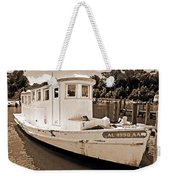 Fly Creek Work Boat Weekender Tote Bag