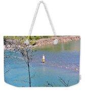 Fly Fisherman Weekender Tote Bag