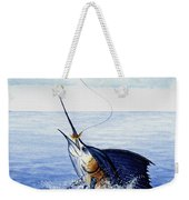Fly Fishing For Sailfish Weekender Tote Bag