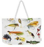 Fly Fishing I Weekender Tote Bag