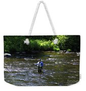 Fly Fishing In New York Weekender Tote Bag