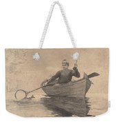Fly Fishing Weekender Tote Bag