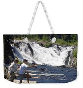 Fly Fishing The Lewis River Weekender Tote Bag
