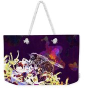 Fly Housefly Insect Close Macro  Weekender Tote Bag
