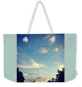 Fly Like A Bird To The Lord Weekender Tote Bag