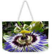 Fly On A Passion Flower Weekender Tote Bag