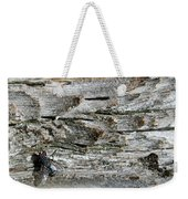 Fly On Wood Weekender Tote Bag