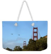 Fly Over Weekender Tote Bag