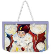 Fly Over The Moon Weekender Tote Bag