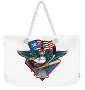 Fly. Philly, Fly, Crest Weekender Tote Bag