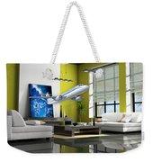 Fly The Friendly Skies Art Weekender Tote Bag