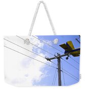 Flying By Wire 6 Of 6 Weekender Tote Bag
