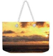 Flying Dog Sunset Weekender Tote Bag