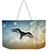 Flying Falcon Weekender Tote Bag