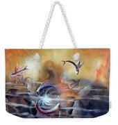 Flying Fishes Weekender Tote Bag