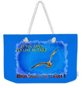 Flying Gull Weekender Tote Bag