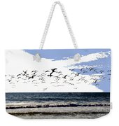 Flying Gulls Weekender Tote Bag