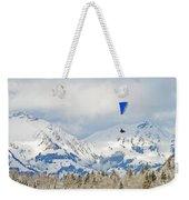 Flying High In Kandersteg, Switzerland Weekender Tote Bag