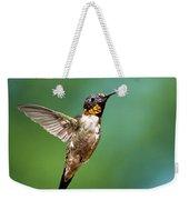 Flying Hummingbird Weekender Tote Bag