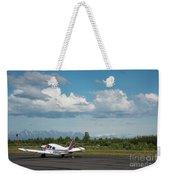 Flying In Alaska Weekender Tote Bag
