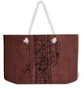 Flying Machine Patent Drawing  Weekender Tote Bag