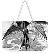 Flying Mans Parachute Weekender Tote Bag