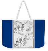 Flying Women Weekender Tote Bag