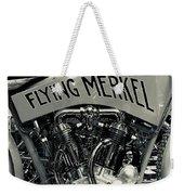 Flying Merkel Weekender Tote Bag