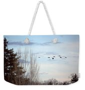 Flying North Weekender Tote Bag