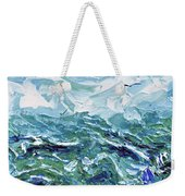 Flying Overseas Weekender Tote Bag