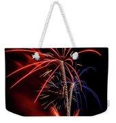 Flying Prom Fireworks Weekender Tote Bag