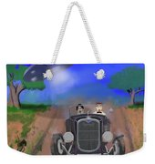 Flying Saucers Attack Teenage Hot Rodders Weekender Tote Bag