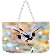 Flying Sparkler Weekender Tote Bag