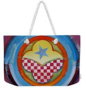 Flying Star Weekender Tote Bag