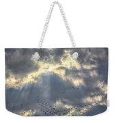 Flying Through Sun Rays 2 Weekender Tote Bag