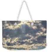 Flying Through Sun Rays Weekender Tote Bag