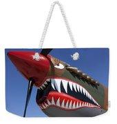 Flying Tiger Plane Weekender Tote Bag