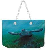 Flying Turtle Weekender Tote Bag
