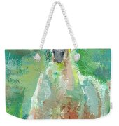 Foal  With Shades Of Green Weekender Tote Bag