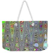 Foam On The Beach Abstract Weekender Tote Bag