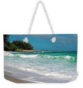 Foamy Surf Weekender Tote Bag