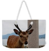 Focus Deer Weekender Tote Bag