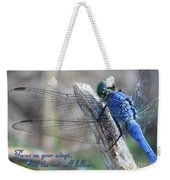 Focus On Your Wings Weekender Tote Bag